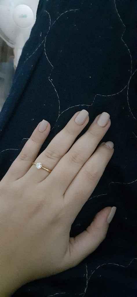 Em que mão tens o anel de noivado neste momento? - 1