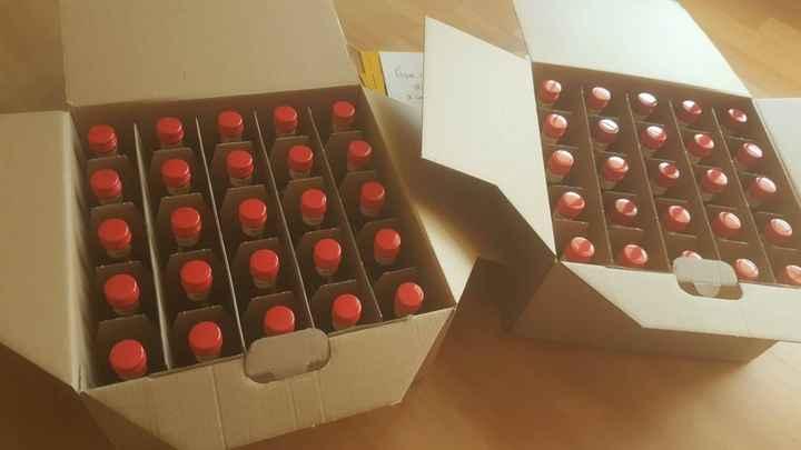 Mini garrafas