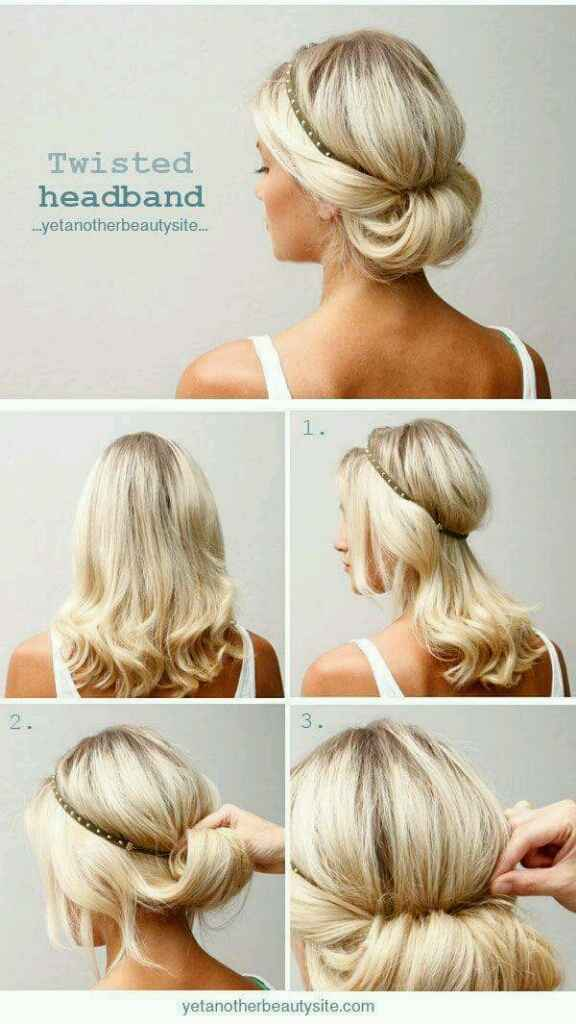 Penteado fácil - 1