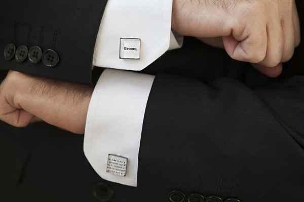 Botões de punho personalizados