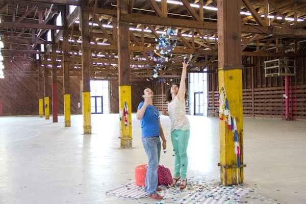 Confetis gigantes