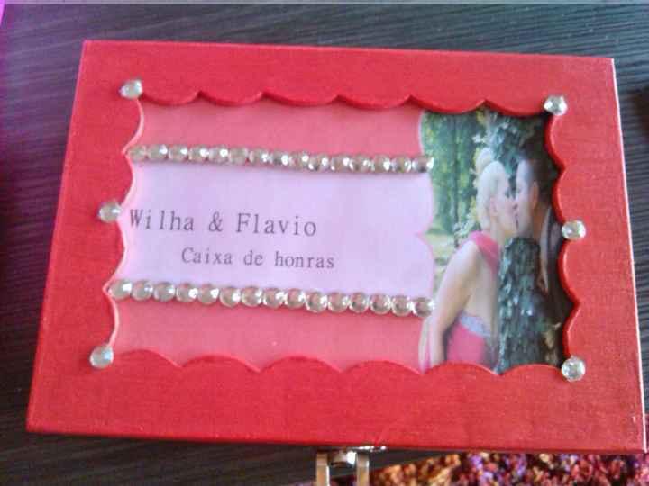 Minha caixa de honra e caixa dos envelopes - 2