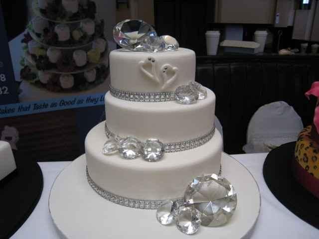 Bolo noiva tema pedras precioas