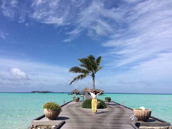 Comprar bilhetes avião lua de mel - Maldivas - 1