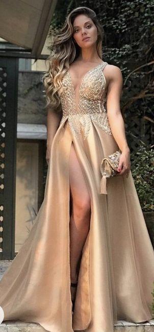 O🌈 Arco-íris invade a Comunidade com Inspirações em Dourado para Vestido - Damas de Honor 3