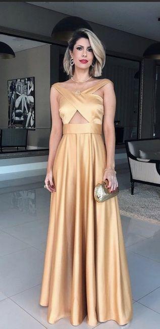 O🌈 Arco-íris invade a Comunidade com Inspirações em Dourado para Vestido - Damas de Honor 4
