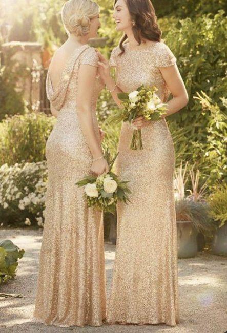 O🌈 Arco-íris invade a Comunidade com Inspirações em Dourado para Vestido - Damas de Honor 6