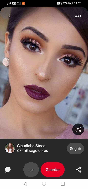 Makeup, unhas e penteados escolhidos ❤️💄 - 3