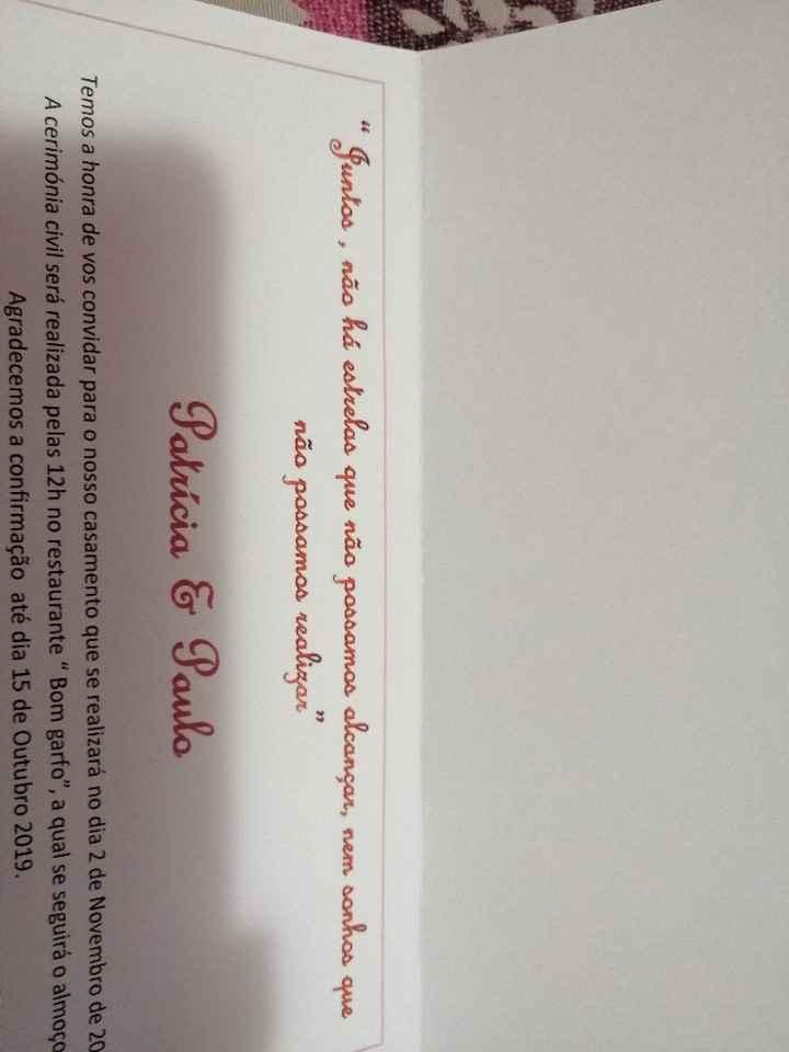 Convite - 2