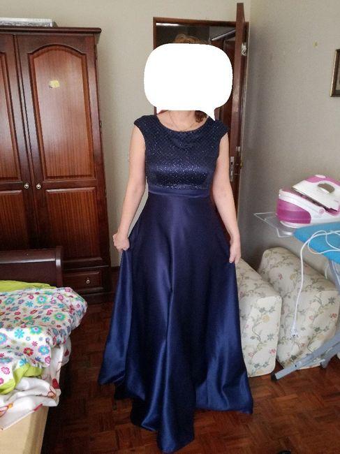 Vestido da Minha Maezinha! ❤ 3