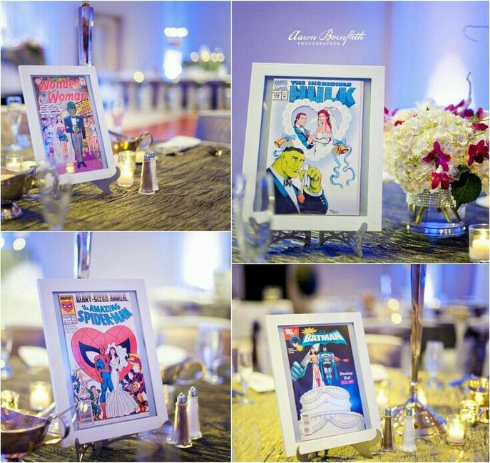 Matrimonio Tema Marvel : Tema banda desenhada bd