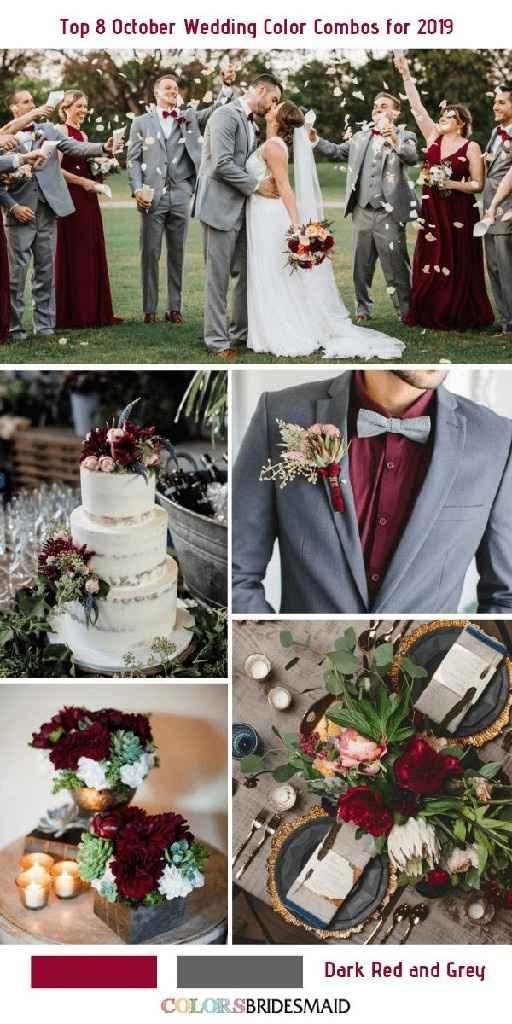 Cor para o casamento vermelho e verde, que acham? - 1