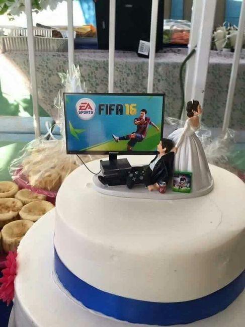 Topo do bolo perfeito - 1