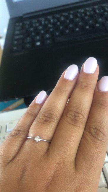 Mostra-nos o teu anel de noivado 😍💍 14