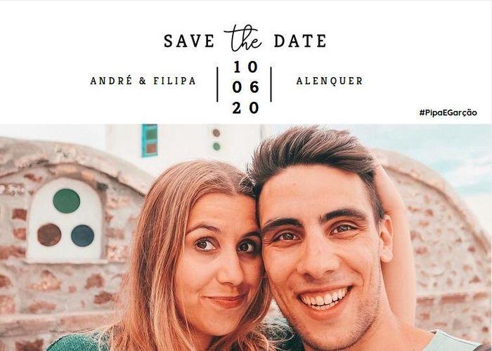 Vale a pena fazer o save the Date? 1