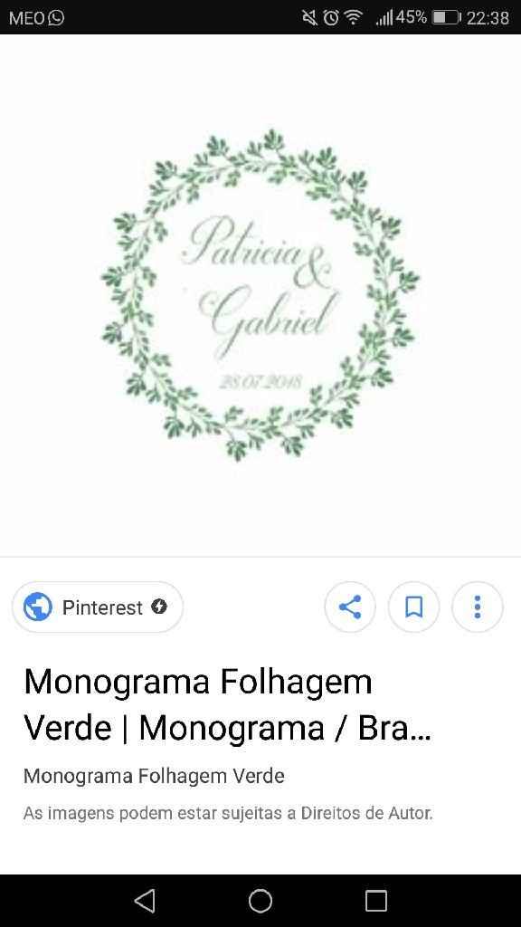 Monograma - 1