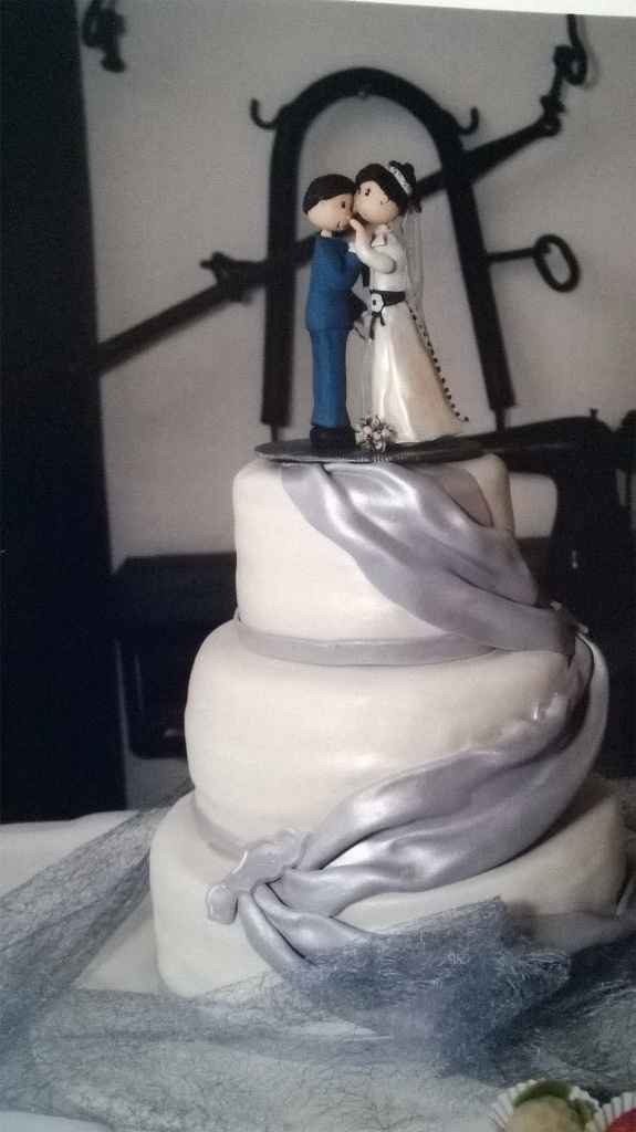 bolo dos noivos