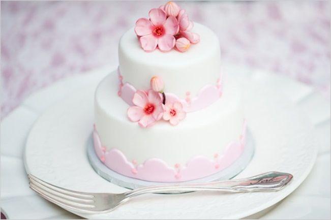 Mini bolos de noiva - 1