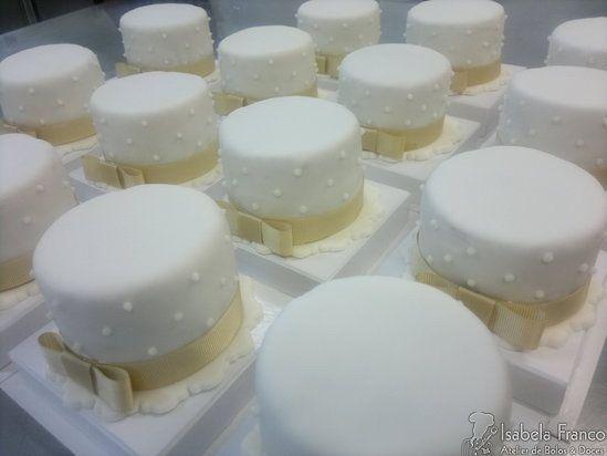 Mini bolos de noiva - 5