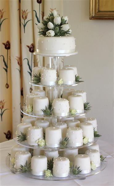 Mini bolos de noiva - 10