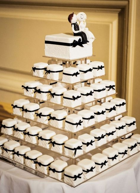 Mini bolos de noiva - 11