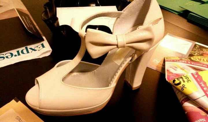 Segundos sapatos check - 1