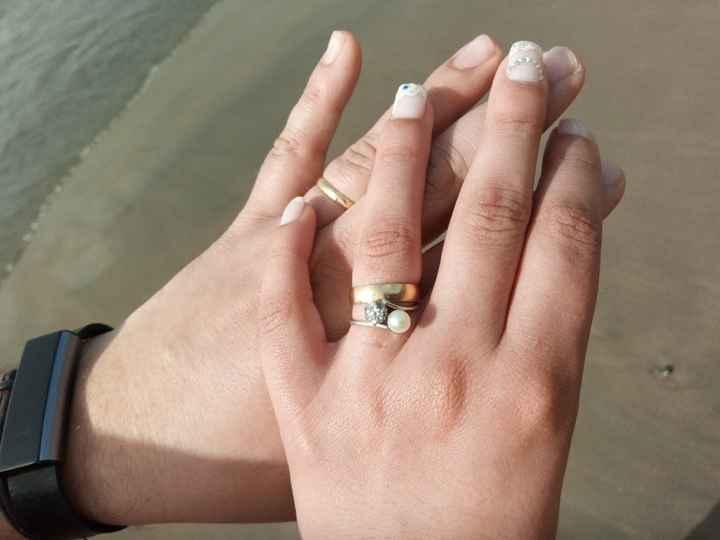 7 anéis de noivado com diamantes - 1