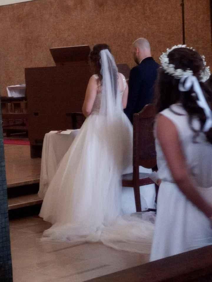 a minha Fabi já casou... 😍 - 1