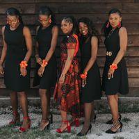 És uma noiva de damas com vestidos iguais ou vestidos diferentes? - 1