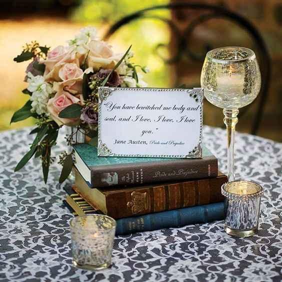 Inspirações com livros