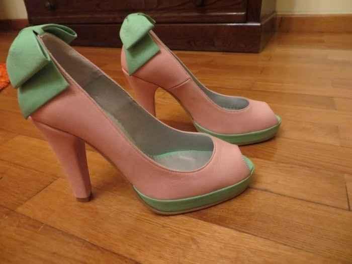 os meus sapatos