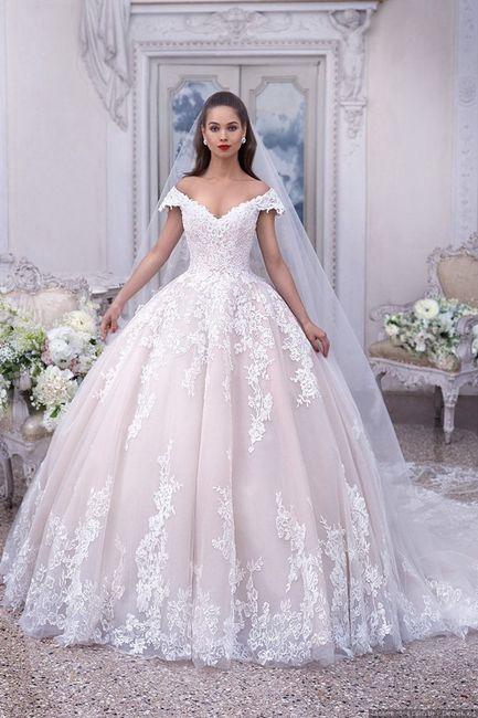 Vestidos de Noiva corte princesa 😍 1