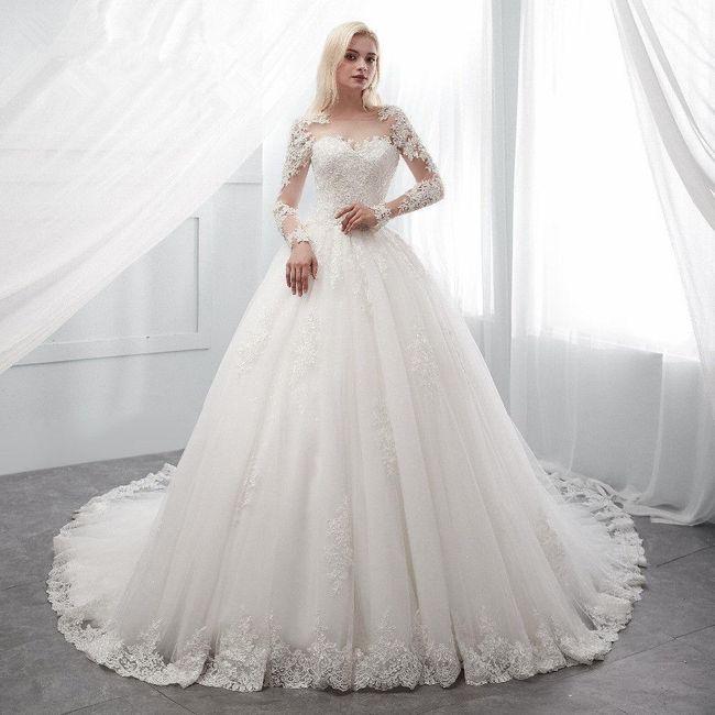 Vestidos de Noiva corte princesa 😍 5