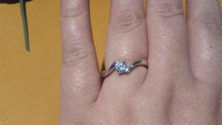 Anel de noivado :)