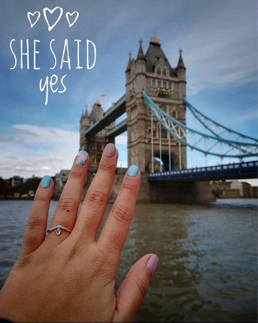 Onde foi o teu pedido de casamento? - 1