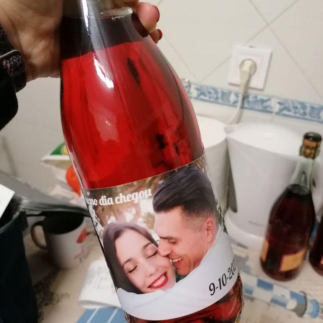 Rotulos das garrafas 😉 1
