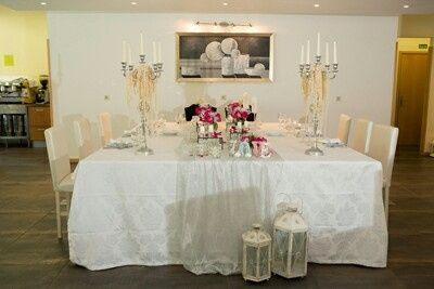Mesa dos noivos inspirações - 1