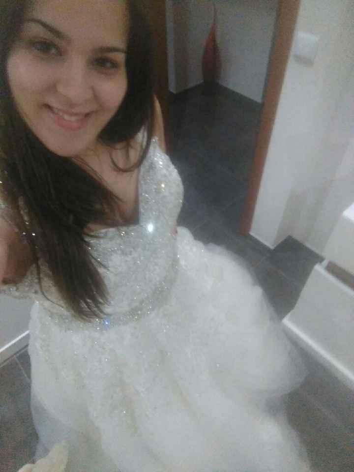 O que vais fazer com o vestido depois do casamento? - 1