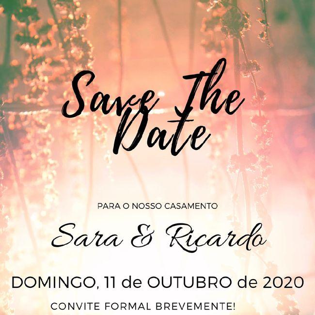 Save the date- Qual a vossa opinião? 2