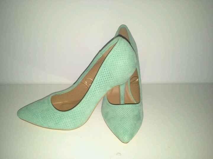Sapatos escolhidos - 1