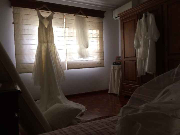 ao acordar no quarto de solteira