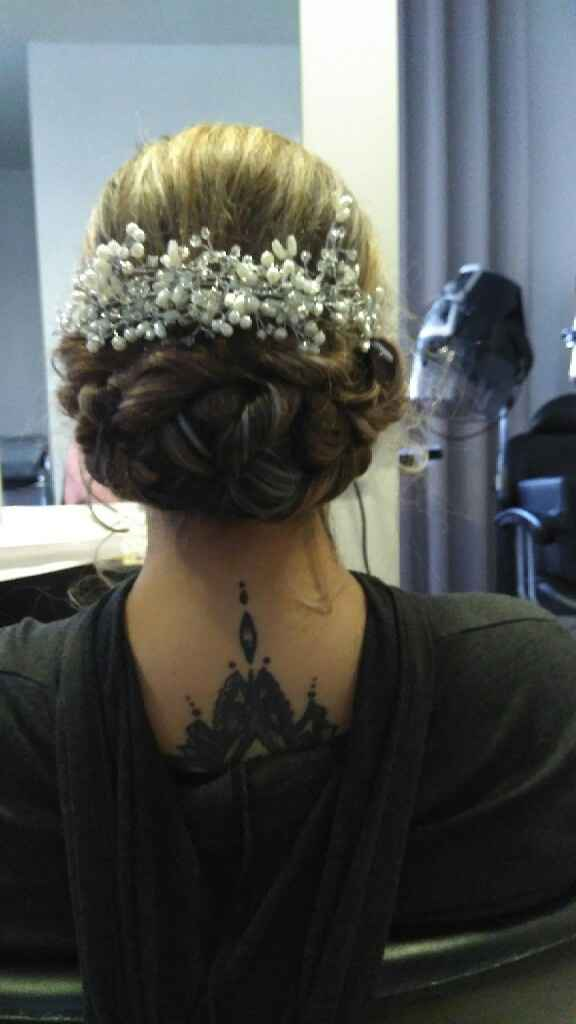 Segundo penteado - 3