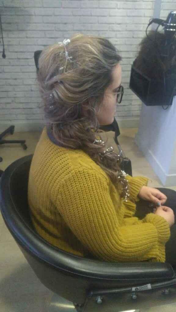 Segundo penteado - 1