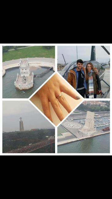 Partilha fotos que tens do dia do teu pedido de casamento ;) - 1