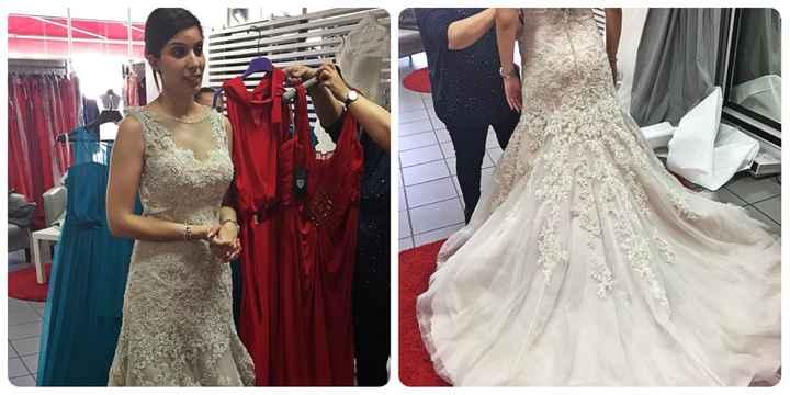 Primeira prova do vestido- completamente rendida=) - 1