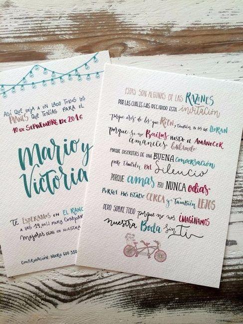 Os convites de casamento mais lindos - Disenos tarjetas de boda ...