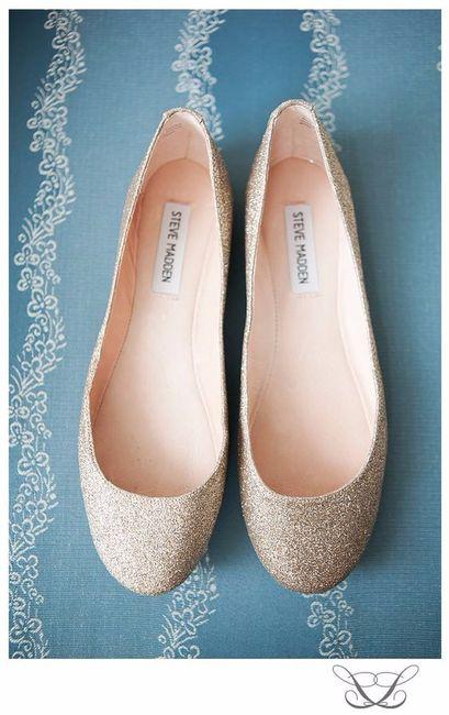 b276d1a03 Sapatos de noiva rasos: tendências 2018