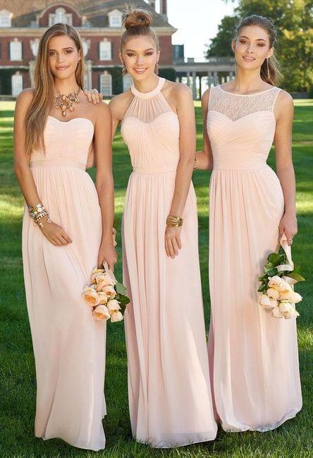 O teu vestido ideal: o look das damas de honor