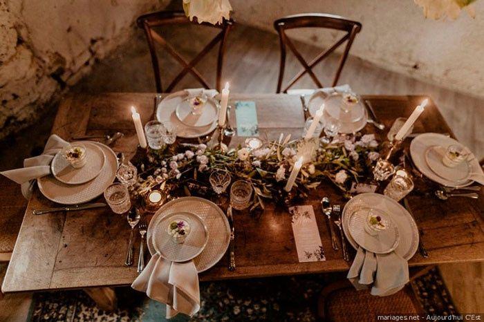 Estou apaixonad@ por este tipo de mesa! 1