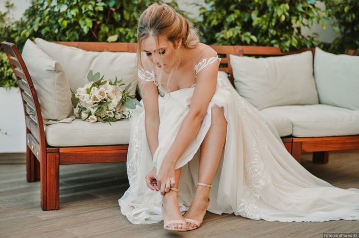 Fotos com pose: noiva sentada 👰 1